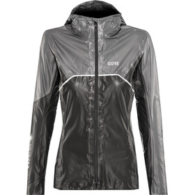 GORE WEAR R7 Gore-Tex Shakedry Trail Hooded Jacket Damen black/lava grey